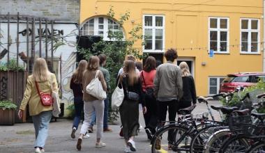 Frederiksborg-studenter så »København fra en ny vinkel«